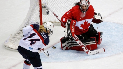 A Woman Amongst Men: Gold Medal Goalie Makes It Pro!
