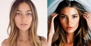 Victoria's Secret Models Before And After Make Up