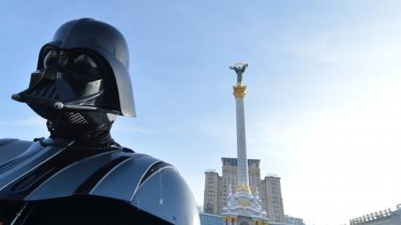 Darth Vader Casually Runs for Mayor in Ukraine