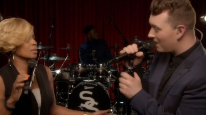 Sam Smith and Mary J. Blige Duet Stuns Audience at the Apollo (Video)
