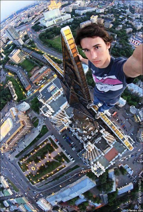 daredevil selfie