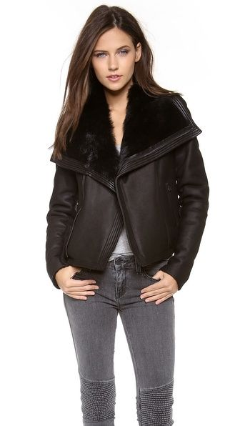shearling leather