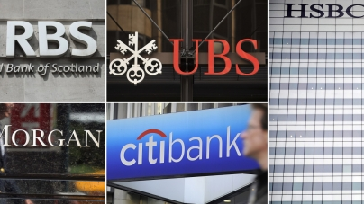 Six Major Banks Fined Billions For Currency Manipulation