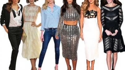 2014 Biggest Celeb Fashion Trends