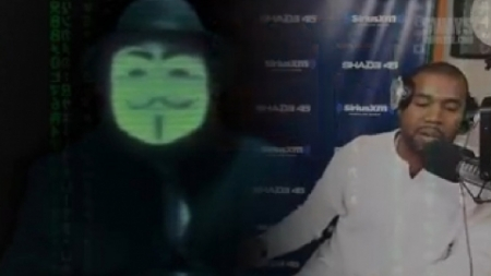 The Group Anonymous Sends Threatening Letter To Kanye West (VIDEO)