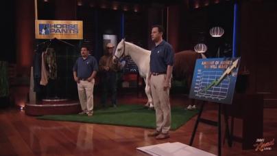 Jimmy Kimmel Pitches Hilarious Start Up On Shark Tank, Lands $5 Million Dollar Deal (VIDEO)