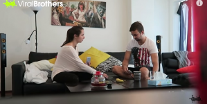 Funniest Prank You Will See This Week: Fake Pregnancy Gone Terribly Wrong (VIDEO)