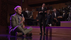 "Ellen DeGeneres Wins The Most Epic Lip Sync Battle On ""The Tonight Show"" Of All Time (VIDEO)"