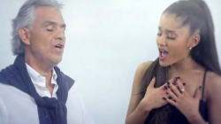 Ariana Grande Singing Opera With Andrea Bocelli Will Give You The Chills (Video)