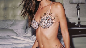 Victoria's Secret Model Lily Aldridge Dancing Around In A $2 Million Gold-Encrusted Bra Will Require A Drool Cup (VIDEO)