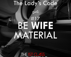The Lady's Code #17