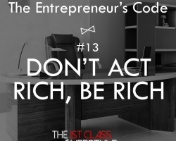 The Entrepreneur's Code #13