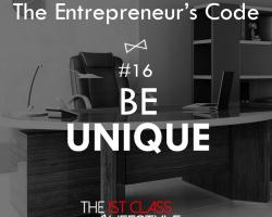 The Entrepreneur's Code #16