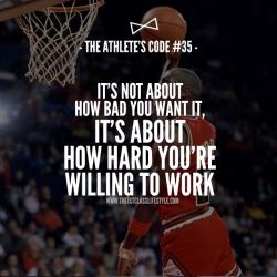 The Athlete's Code #35