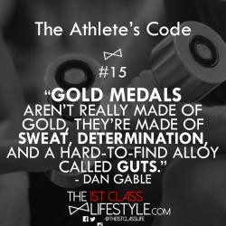The Athlete's Code #15
