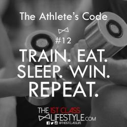 The Athlete's Code #12
