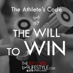 The Athlete's Code #7