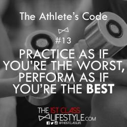 The Athlete's Code #13