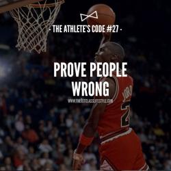 The Athlete's Code #27