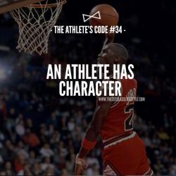 The Athlete's Code #34