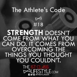 The Athlete's Code #18