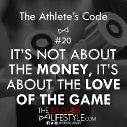 The Athlete's Code #20