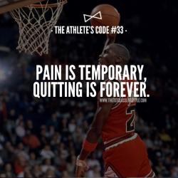 The Athlete's Code #33