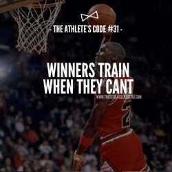 The Athlete's Code #31