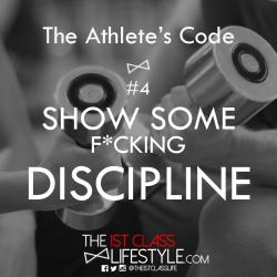 The Athlete's Code #4