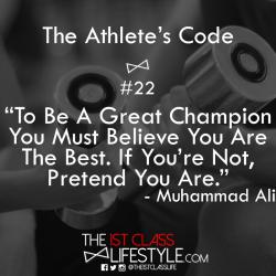 The Athlete's Code #22