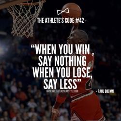 The Athlete's Code #42