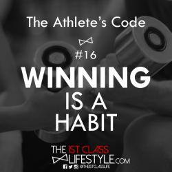 The Athlete's Code #16