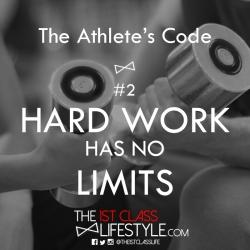 The Athlete's Code #2