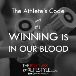 The Athlete's Code #1