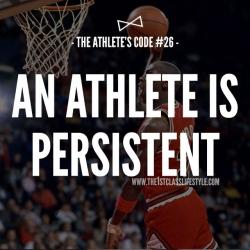 The Athlete's Code #26