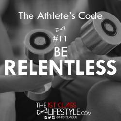 The Athlete's Code #11