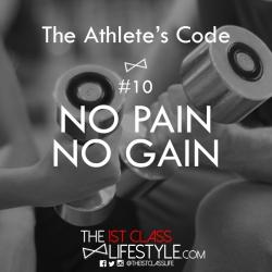 The Athlete's Code #10