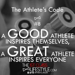 The Athlete's Code #8