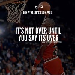 The Athlete's Code #30
