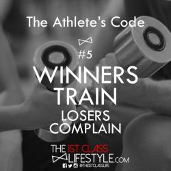 The Athlete's Code #5