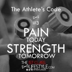 The Athlete's Code #3