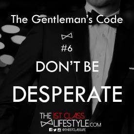 The Gentleman's Code #6