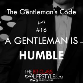 The Gentleman's Code #16