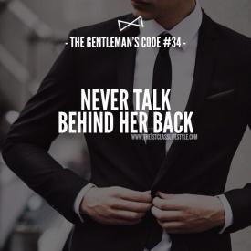 The Gentleman's Code #34