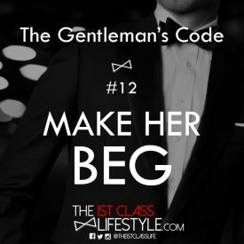 The Gentleman's Code #12