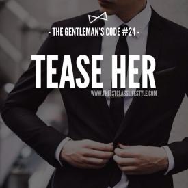 The Gentleman's Code #24
