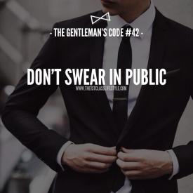 The Gentleman's Code #42