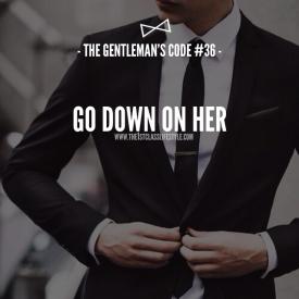 The Gentleman's Code #36