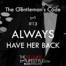 The Gentleman's Code #13
