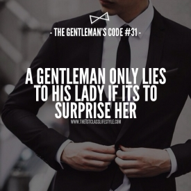 The Gentleman's Code #31